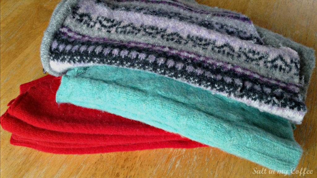 how to make felted wool mittens