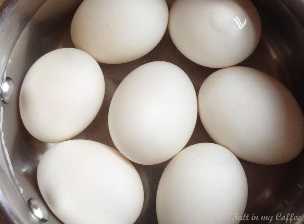 How long to hard boil duck eggs