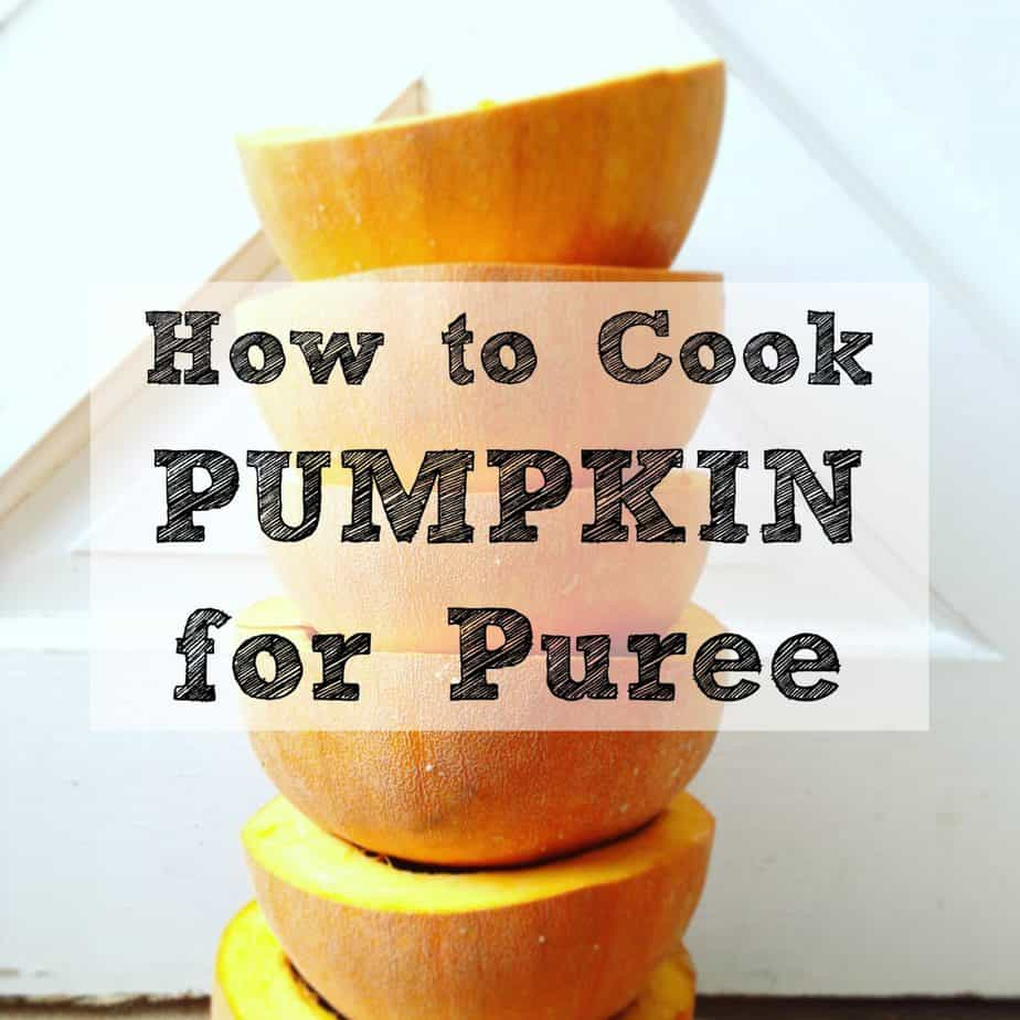 cook pumpkin for puree