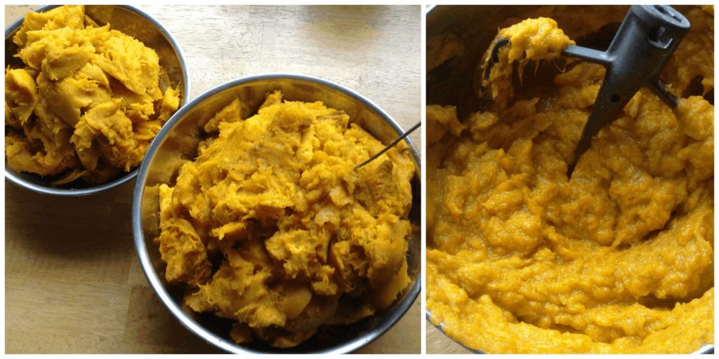 how to roast pumpkin for puree