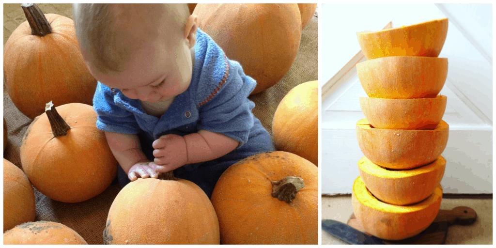 roasting pumpkin to freeze