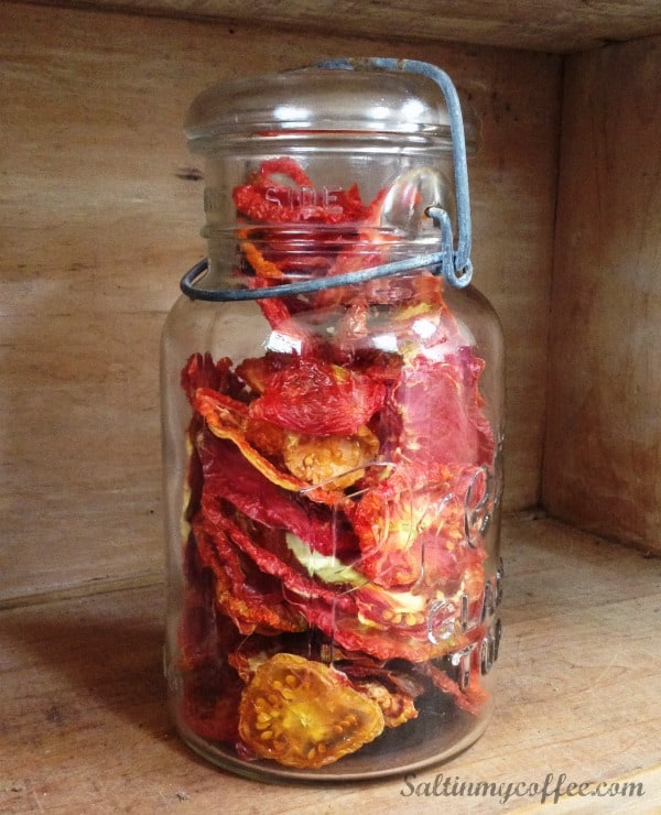 how to dehydrate tomatoes in a dehydrator