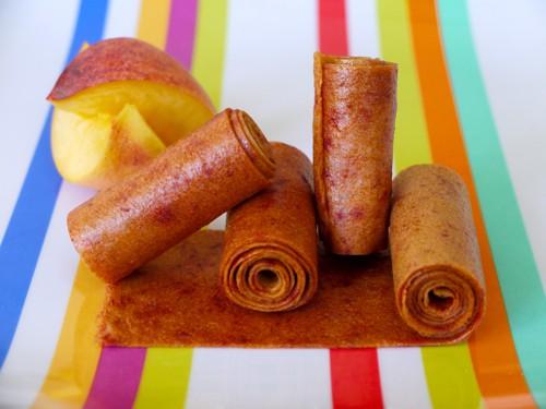 peach fruit leather
