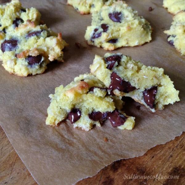 coconut flour chocolate chip cookie recipe