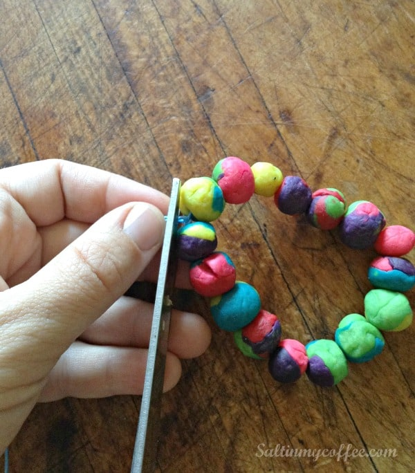 play doh diffuser bracelet