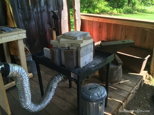 what you need to start blacksmithing at home
