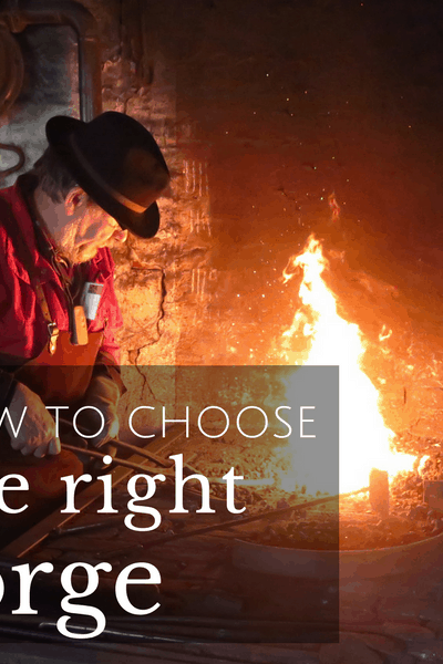 how to choose the right forge for your backyard smithy
