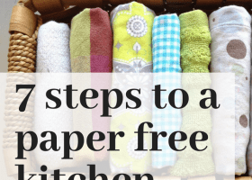 7 Steps to a Paper Free Kitchen