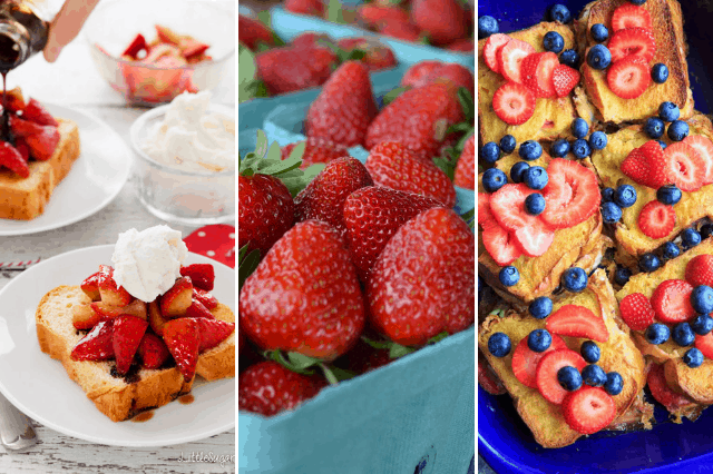 strawberry breakfast ideas
