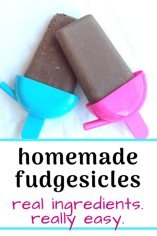 homemade fudgesicle recipe