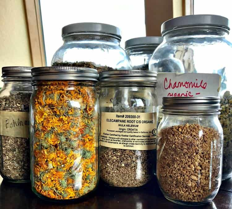 homemade herbal tea for lung support