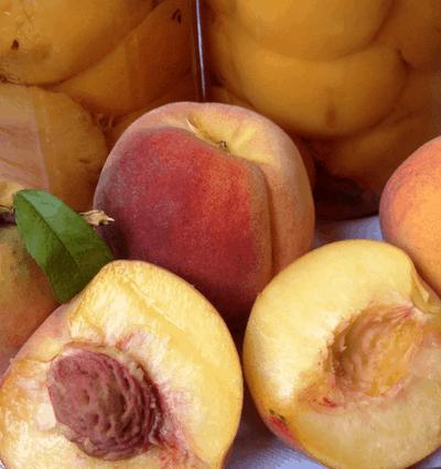pressure canning peaches
