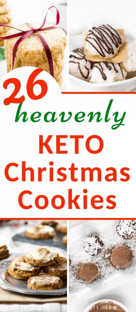 heavenly KETO Christmas Cookies for 2018