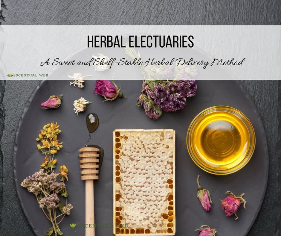herbal healing electuaries