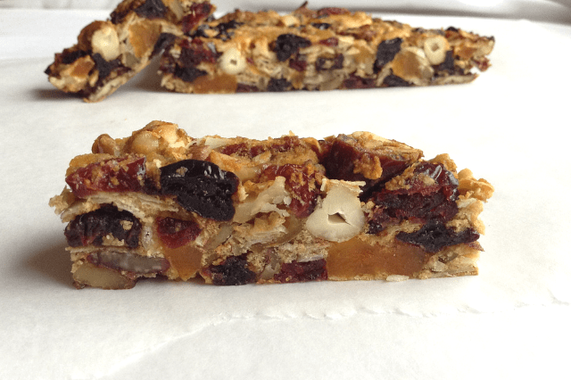 paleo fruit and nut bars