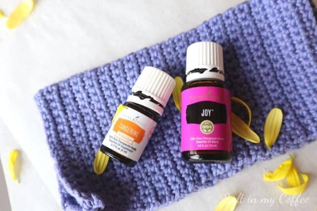 Joy and Tangerine essential oils