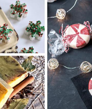 handmade Christmas Soap Recipes