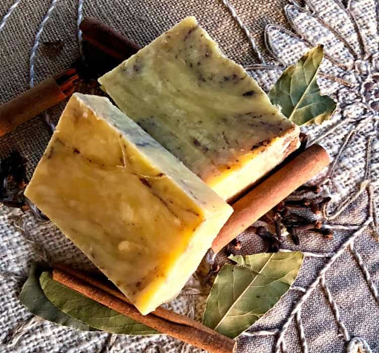 Holiday Spice Hot Process Soap