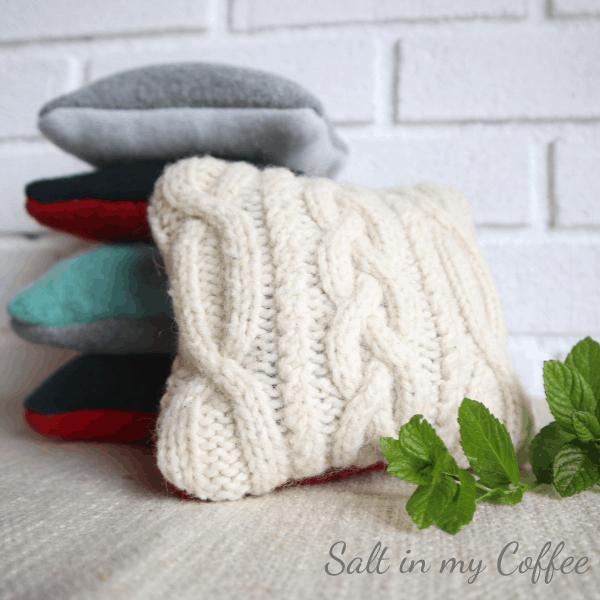 Reusable handmade heating packs
