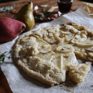 Gluten Free Pear and Mascarpone Galette