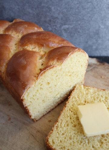 Einkorn Brioche Loaf
