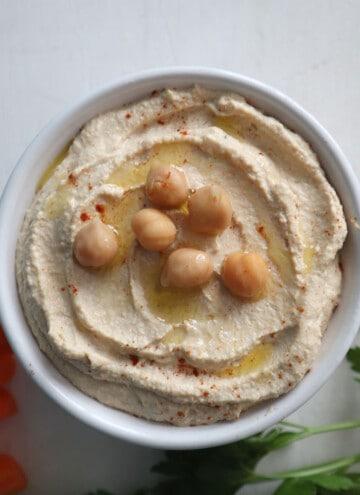 simple perfect hummus recipe