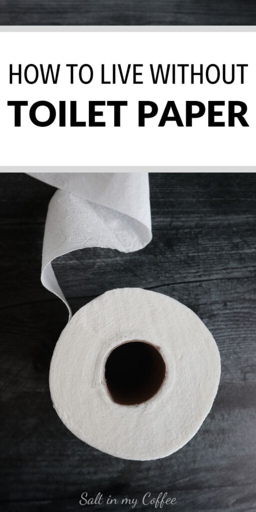 living without toilet paper