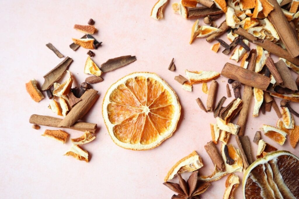 DIY Orange Spice Potpourri