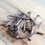 rusty nails for making iron mordant or iron modifier