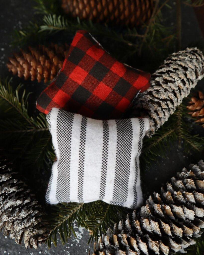 handmade balsam fir pillows