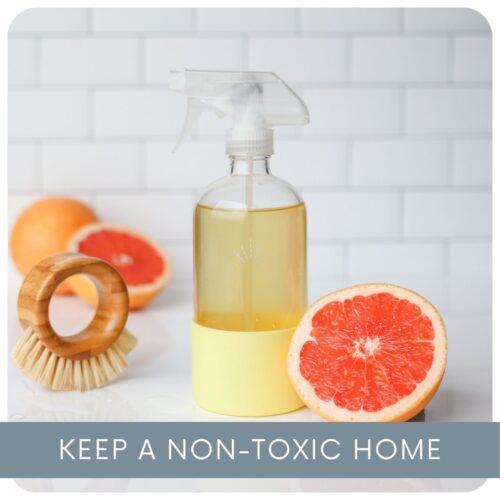 Keep a Non-Toxic Home